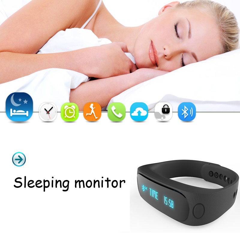 ФОТО Original brand Smart Bracelet Bluetooth Activity Wristband Intelligent Sports Watch Step Gauge Sleep Track Caller ID display