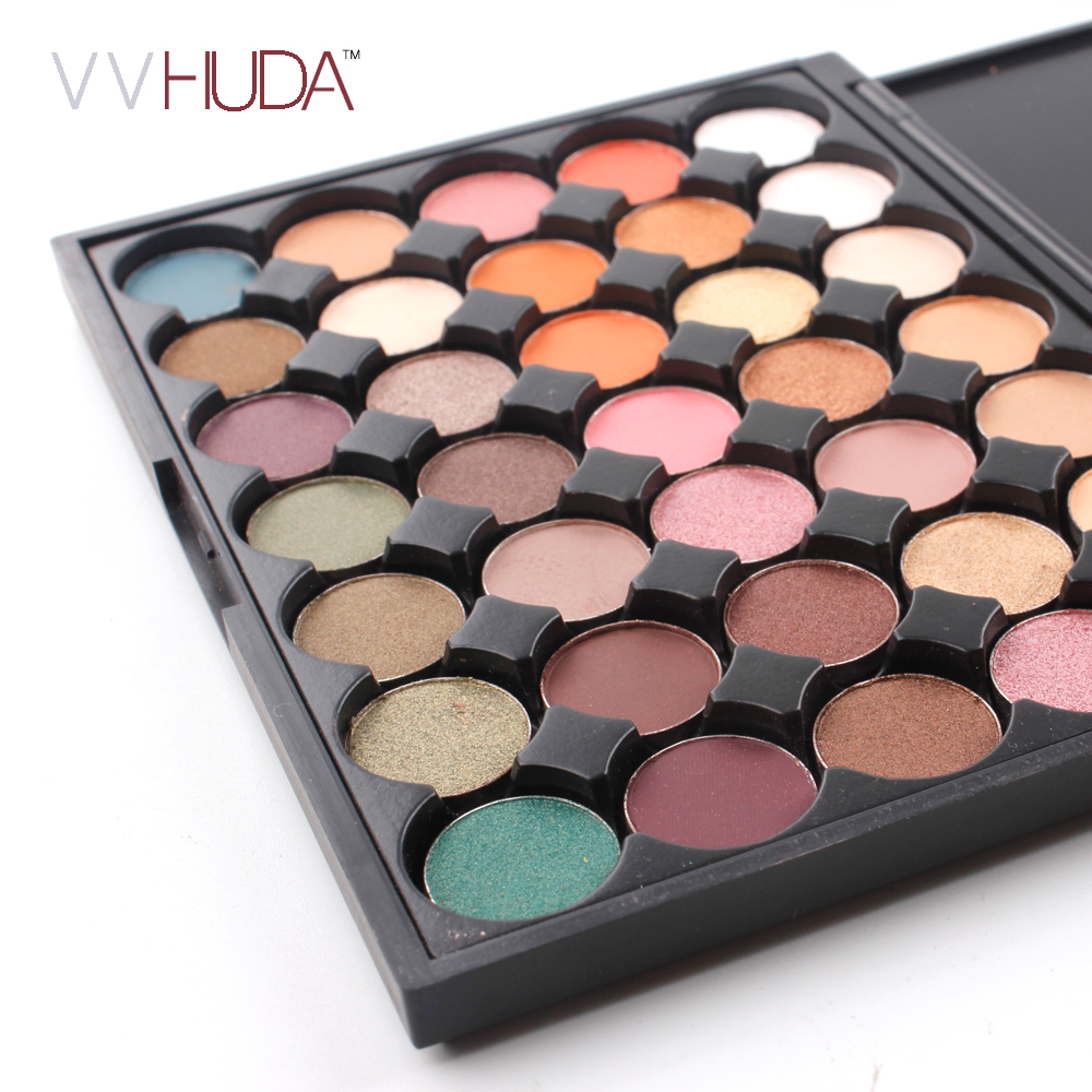 Eye Shadow Original Naqier Eye Makeup Nudes Palette 40 Color Matte Eyeshadow Pallete Glitter Powder Eye Shadows Earth Brush Set Stamps Pigment Refreshing And Beneficial To The Eyes