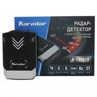 Update Karadar GPS Car detector 2018 anti car detector radar car styling full band detection laser strelka radar detector