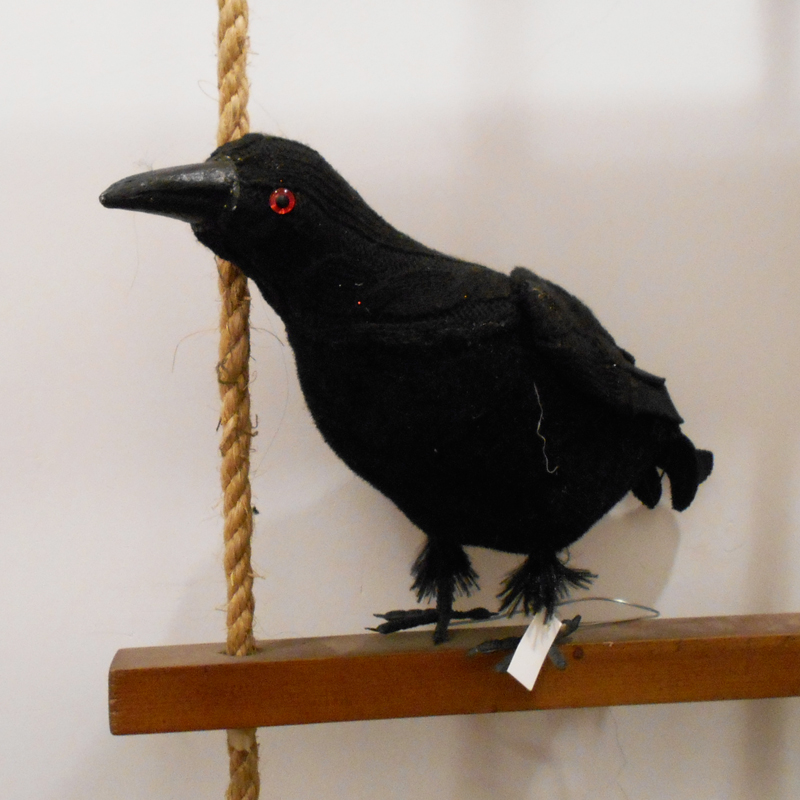 halloween crow halloween decorations haunted house halloween props crow table decorations free shipping in event party from home garden on - Halloween Crow Decorations