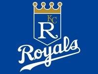 Kansas City Royals Custom Flag 3ftx5ft Polyester White Sleeve With 2 Metal Grommets 3ft X 5ft