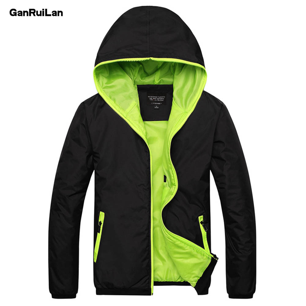 Jacket Men  2018 Spring Autumn Fashion Jacket Men's Hooded Casual Jackets Male Coat Thin Men Coat Outwear Couple JK18031