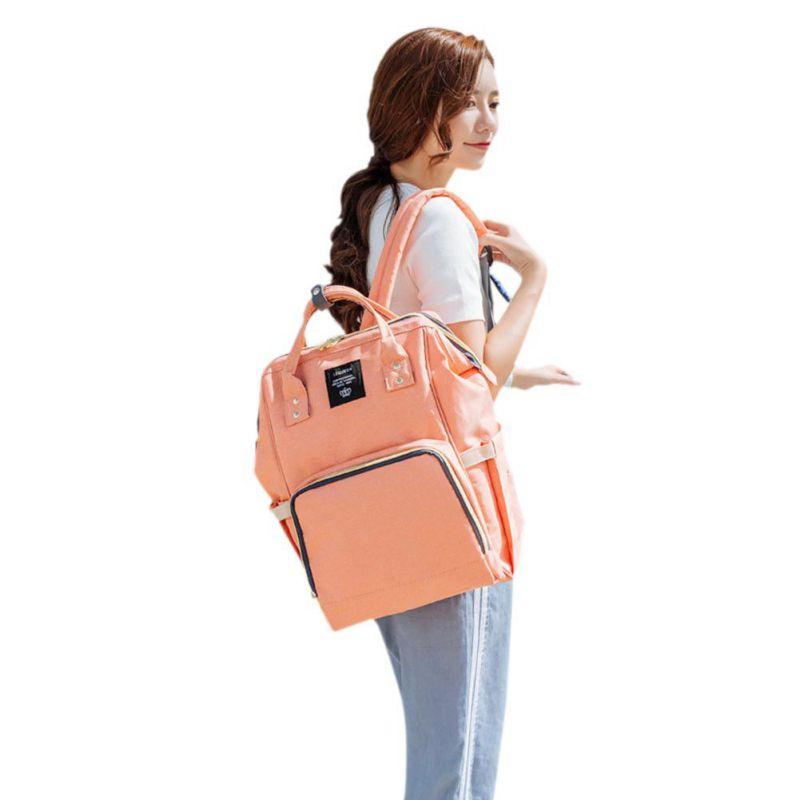 Mummy Maternity Nappy Bag Diaper Large Capacity Baby Bag Travel Backpack Design Baby Care Nursing Bag