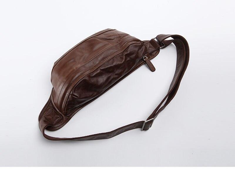 camada do couro macio ocasional saco peito Japonês