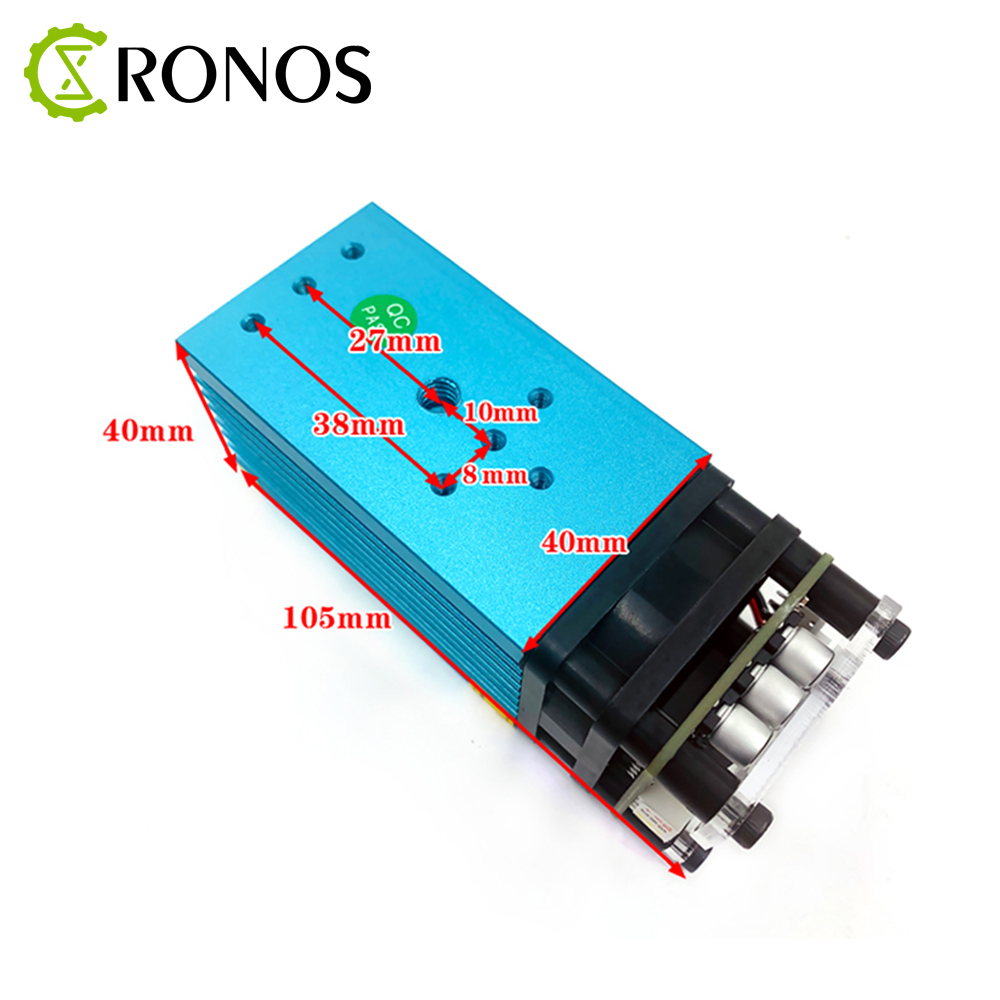 15W Fixed Focus Blue Violet Laser Module Can Engrave on stainless steel 15000mw DIY Carving Engraver Accessory With PWM in Woodworking Machinery Parts from Tools