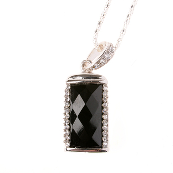 Factory Price Jewelry Usb Flash Drive 64GB Necklace Chain Girl Gift Gifts Pen Drive 64GB 32GB Pendrive 16GB 8GB Memory Stick Key