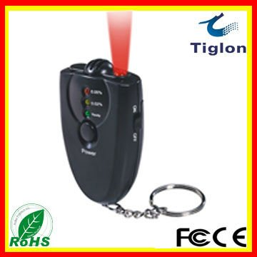 Alcohol Tester Breathalyzer Alcohol Detector with LCD display   PFT-61