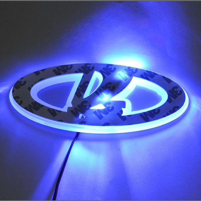 Nieuwste Lada Logo Led Licht Single Color Led Merk Auto Achter Badge