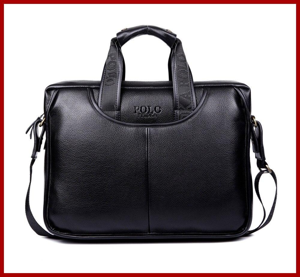 2015 Mens briefcase business Shoulder bag Men messenger bags Tote Designer Computer Laptop Leather POLO Bag Men's Travel Bags  men messenger bags 2015 27 shoulder bag