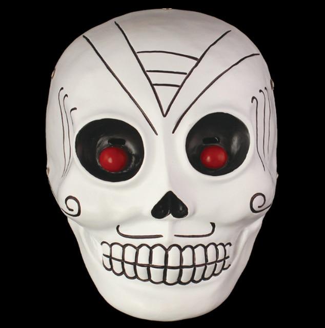 skull skeleton the joker cosplay mask masquerade scary full face