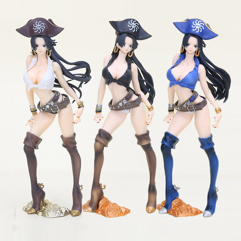 Toys & Hobbies Intellective 24cm One Piece Boa Hancock Figure Toy Flag Diamond Ship Hancock Pirate Anime Beauty Model Figurine Quality And Quantity Assured