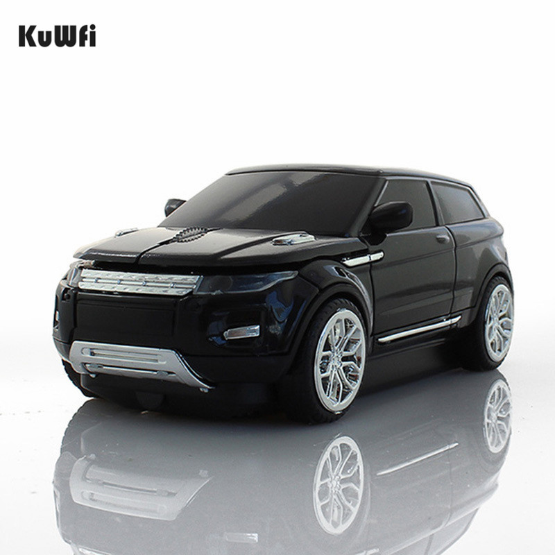 KuWFi Wireless Mouse Cool SUV Car Mouse 1600DPI USB 3.0 Receiver Optical Computer Mouse