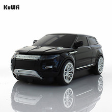 KuWFi Wireless Mouse Cool SUV Car Mouse 1600DPI USB 3.0 Receiver Optical Computer Mouse 2.4GHz Ergonomic Mice For Laptop PC