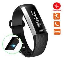 M2 фитнес-браслет монитор сердечного ритма Смарт браслет шагомер часы трекер smartband для IOS Android