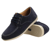 Mens England Canvas Leisure Anti Suede Single Shoes 44 Blue