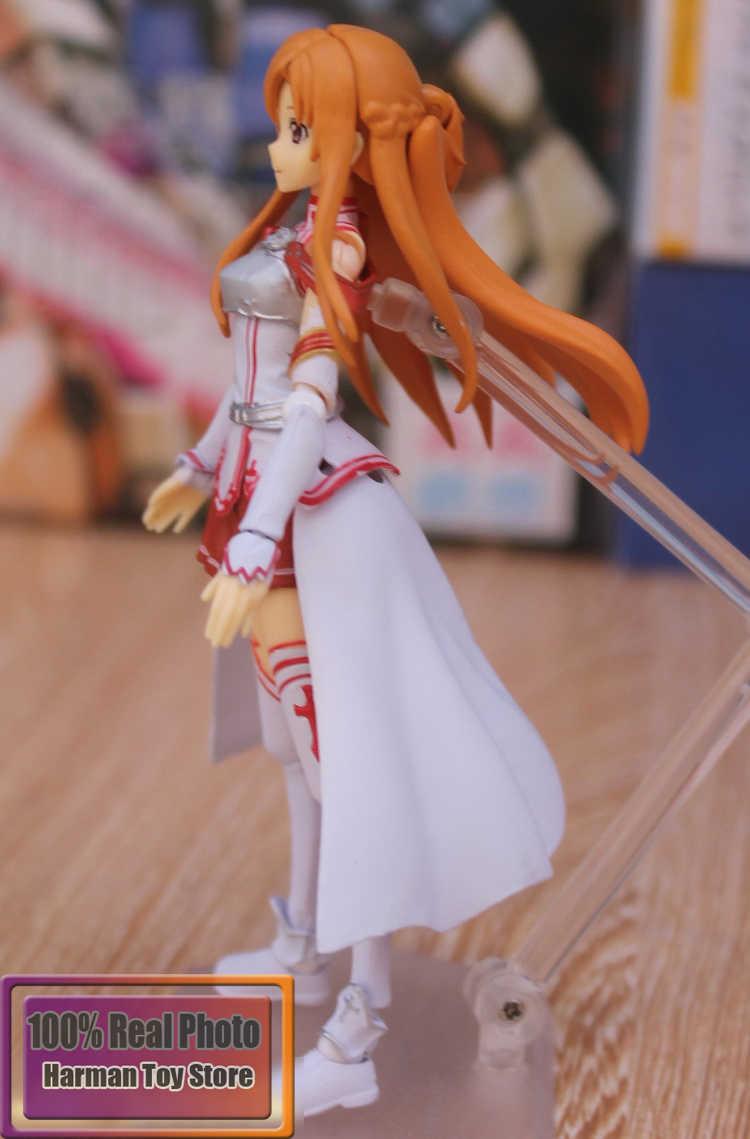15 cm Anime Japonês Espada de Arte Em Linha Sao Yuuki Asuna Figma 178 Figma Nova PVC Action Figure Coleção Modelo Brinquedos boneca