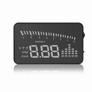 Image 5 - X5 Car Hud Head Up OBD 2 Display Digital Speedometer Overspeed Alarm Auto Windshield Projector OBD ii Car Electronics