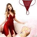 1 ШТ. sexy red Оболочка подарок для подруги Рождество Акриловые перспектива с плеча Экзотическое одеяние Экзотические Платья WU0005