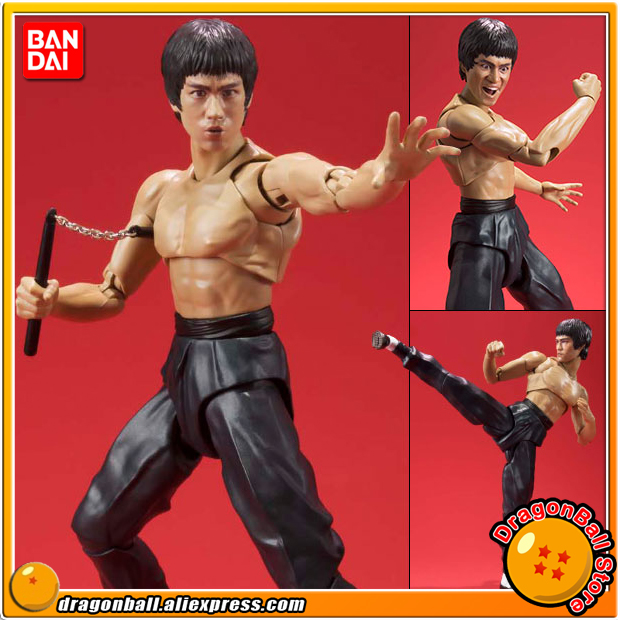 100 Original BANDAI Tamashii Nations SHF S H Figuarts Action Figure Bruce Lee