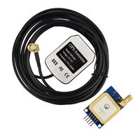 GPS Module U Blox NEO 6M With 3m Active Antenna For Arduino STM32 51 Single Chip