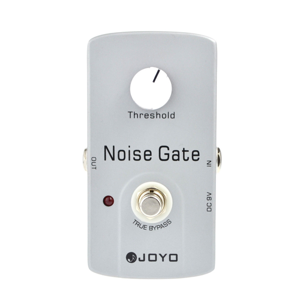JOYO JF-31 Guitar Effects Noise Gate Effects Pedal Reduces Eletric Guitar Extra Noise Minimum Loss Of Tone Easily Operated effects of khat catha edulis exercise