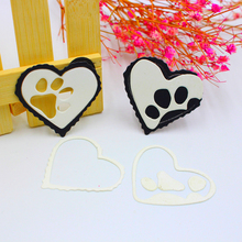 Buy die cutting seal and get free shipping on aliexpress scd816 love dog seal metal cutting dies for scrapbooking solutioingenieria Choice Image