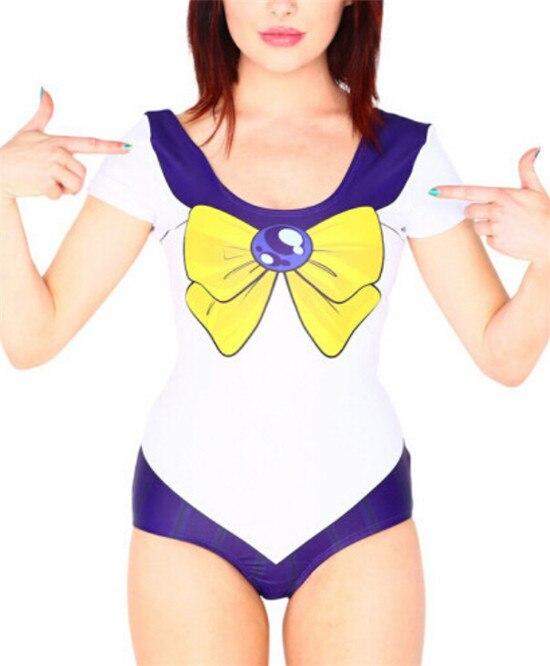 new women sexy swimwear sailor moon swimwear bikini cosplay costume sexy bikini swimsuits halloween drop ship - Halloween Swimsuit