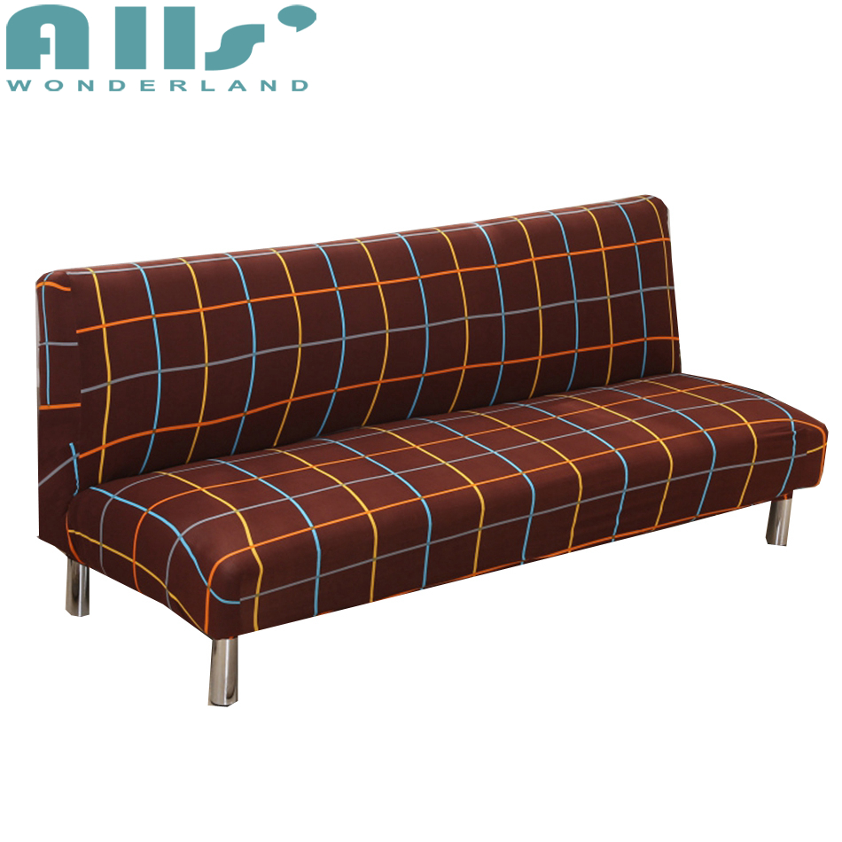 Brown Covering For Sofa Bed Universal Stretch Armless