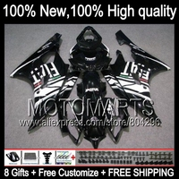 Bodys Black GoodBody For YAMAHA YZFR6 2006 2007 YZF R 6 YZF R6 06 07 JK96112