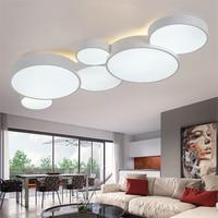 Modern Lights LED Ceiling Lights Suspension Hanglamp Dimming Living Room Bedroom Light FIxtures Ceiling Lamps Luminaire Lustre