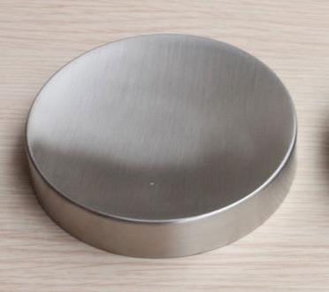 Hoge kwaliteit rvs circulaire reizen zeepkist zeepbakje badkamer ...