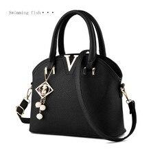 2017 New Brand Famous Woman Bag Fashion Designers Casual-bag Femininas V Metal Tote Leather Bag Lady Handbags Shoulder Bag