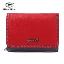 Новый брендовый женский кошелек из натуральной кожи на молнии