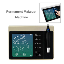 Digital Microblading Machine Pen Portable Permanent Makeup Machine Supplies Rotary Tattoo Machine Gun for Eyebrow/Lip/Eyeliner