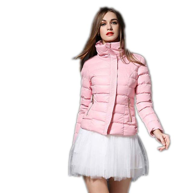 High Quality Winter Jacket Women Short Down Coat 2017  New Fashion Women jacket Winter Female Slim Thicken Warm Coats Parka M336