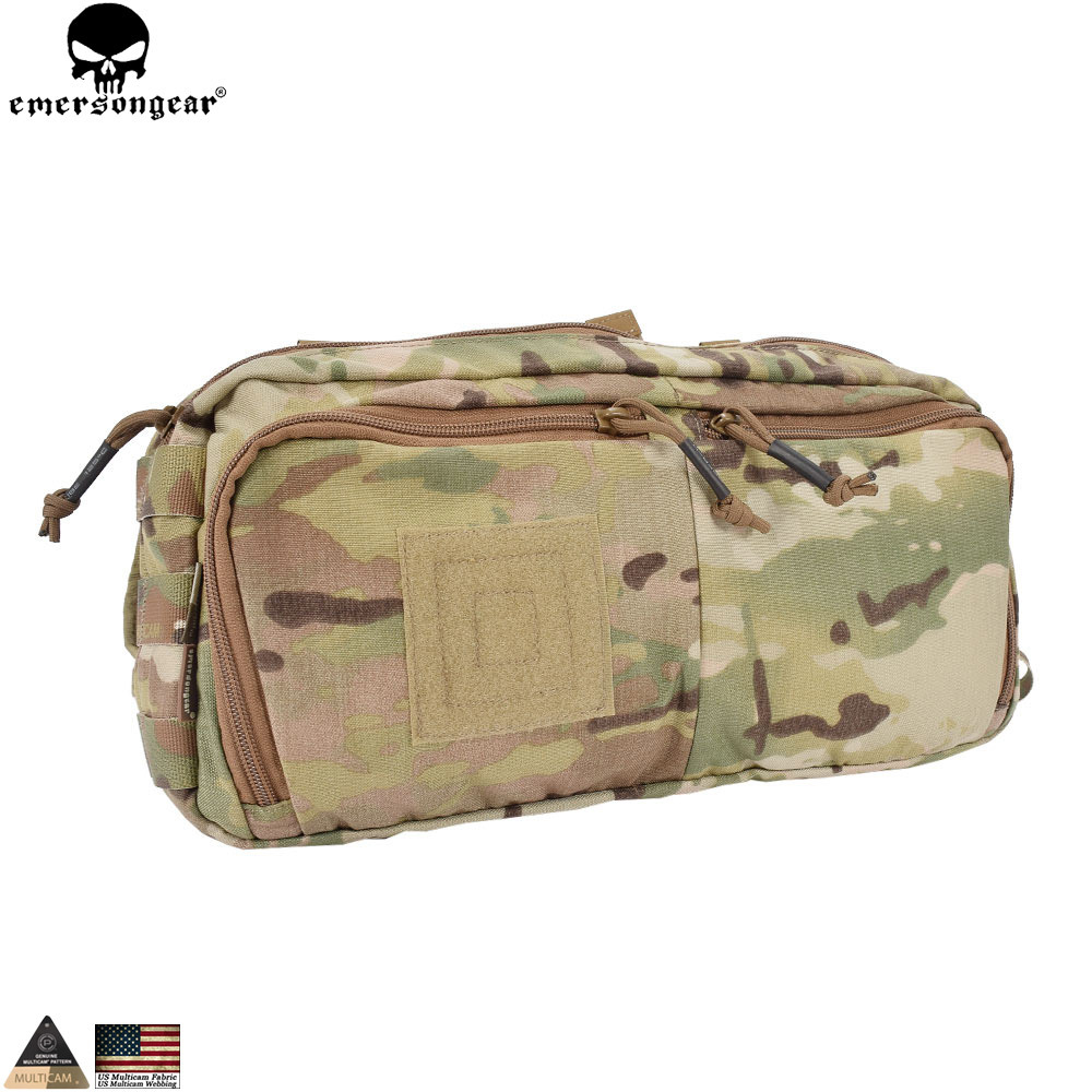 Emersongear Multi-function RECON Waist Bag Sling Pack Messenger Bag Tactical Combat Package Gear Hunting Accessories EM5802 цена
