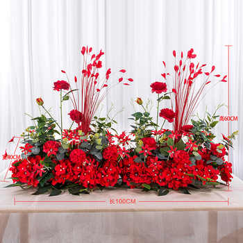 Angela flower Artificial & Dried Flowers Red B