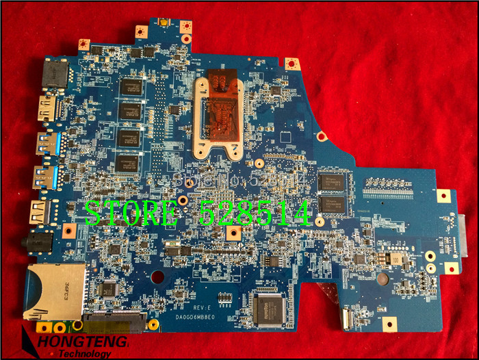 Original for Sony SVF15 SVF15A16CXB Series Laptop Motherboard A1946147A 31GD6MB00G0 for Intel Non-Integrated 100% Test ok