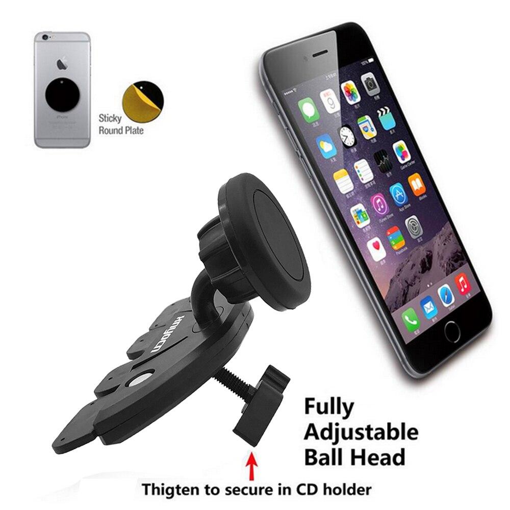 För Samsung Universal Magnetic Car Air Vent Mount CD Slot - Reservdelar och tillbehör för mobiltelefoner - Foto 5