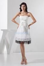 безкоштовна доставка 2016 новий дизайн гарячий продавець офіційна принцеса custommade розмір / колір короткий нареченої плаття плаття білий плаття підліткові плаття