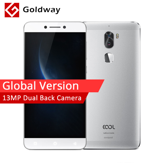 """Глобальная версия Leeco Cool1 двойной Leeco Coolpad здорово 1 Snapdragon 652 мобильный телефон 3 ГБ Оперативная память 32 ГБ 5,5"""" 13MP двойной задней камерами ЕС"""