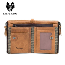 Men's Genuine Leather Vintage Wallet