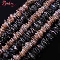 7 14mm Natural Freshwater Pearl Baroque Stone Beads Strand 14 5 For DIY Necklace Bracelets Fashion