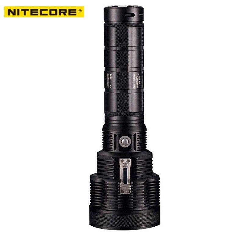 NITECORE Mostro Serie TM38 LCD Ricaricabile Torcia 1800 Lumen CREE XHP35 HI D4 LED 1400 m Lunga Distanza Fascio di Trasporto libero libero