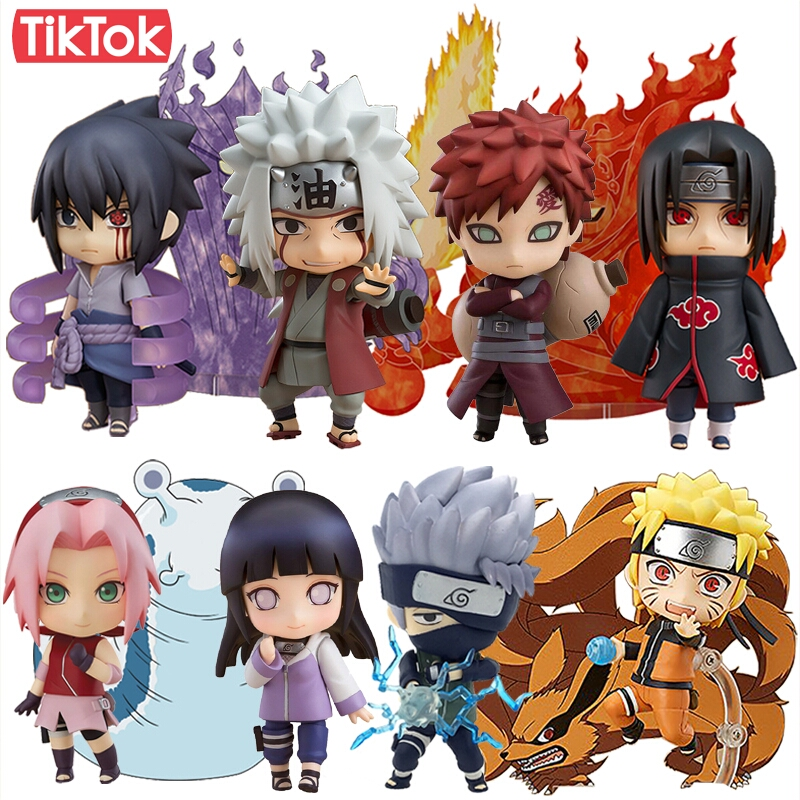 Nendoroid Naruto 682 Sasuke Uchiha 707 Uchiha Itachi 820 ...Naruto X Fem Kyuubi