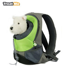 3274c1c149 Treat Me,Dog Carrier Bags,Fashion Breathable Outcrop,Front Chest Puppy  Backpack,Portable travel,Pet Backpack For Small Cat