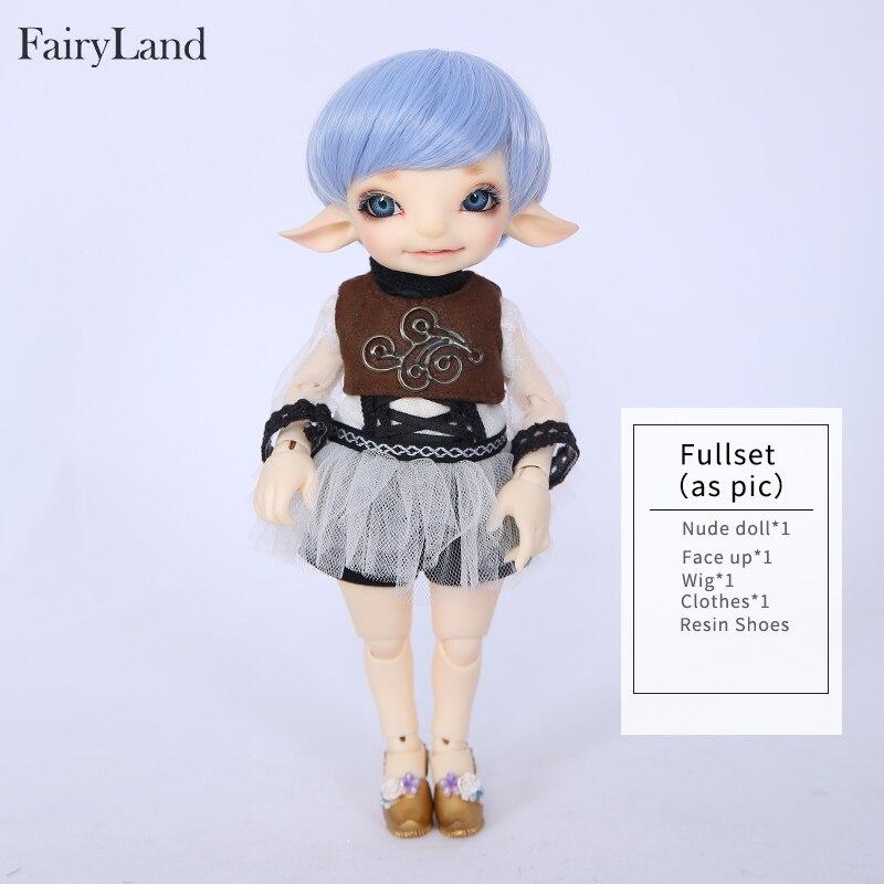 Image 4 - Fairyland RealFee Pano 1/7 BJD куклы из смолы SD игрушки для  детей друзья сюрприз подарок для мальчиков девочек день рожденияКуклы