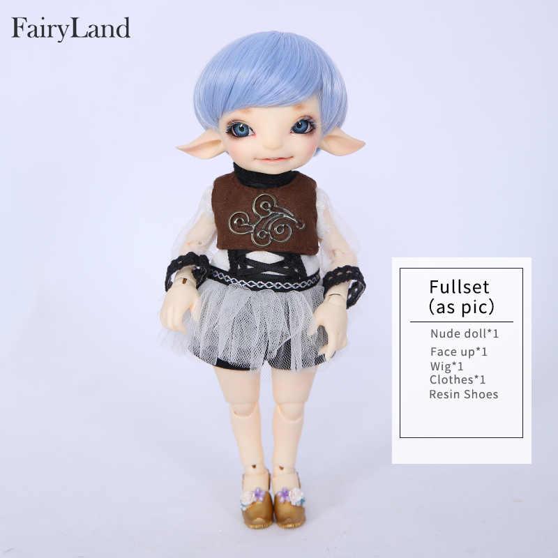 Сказочная земля RealFee Pano 1/7 BJD куклы Смола SD игрушки для детей друзья Сюрприз подарок для мальчиков девочек день рождения