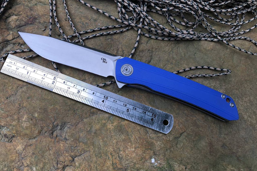 CH brand new pocket hunting knife 3002 G10 modle satin blade folding Camping knives outdoor gears
