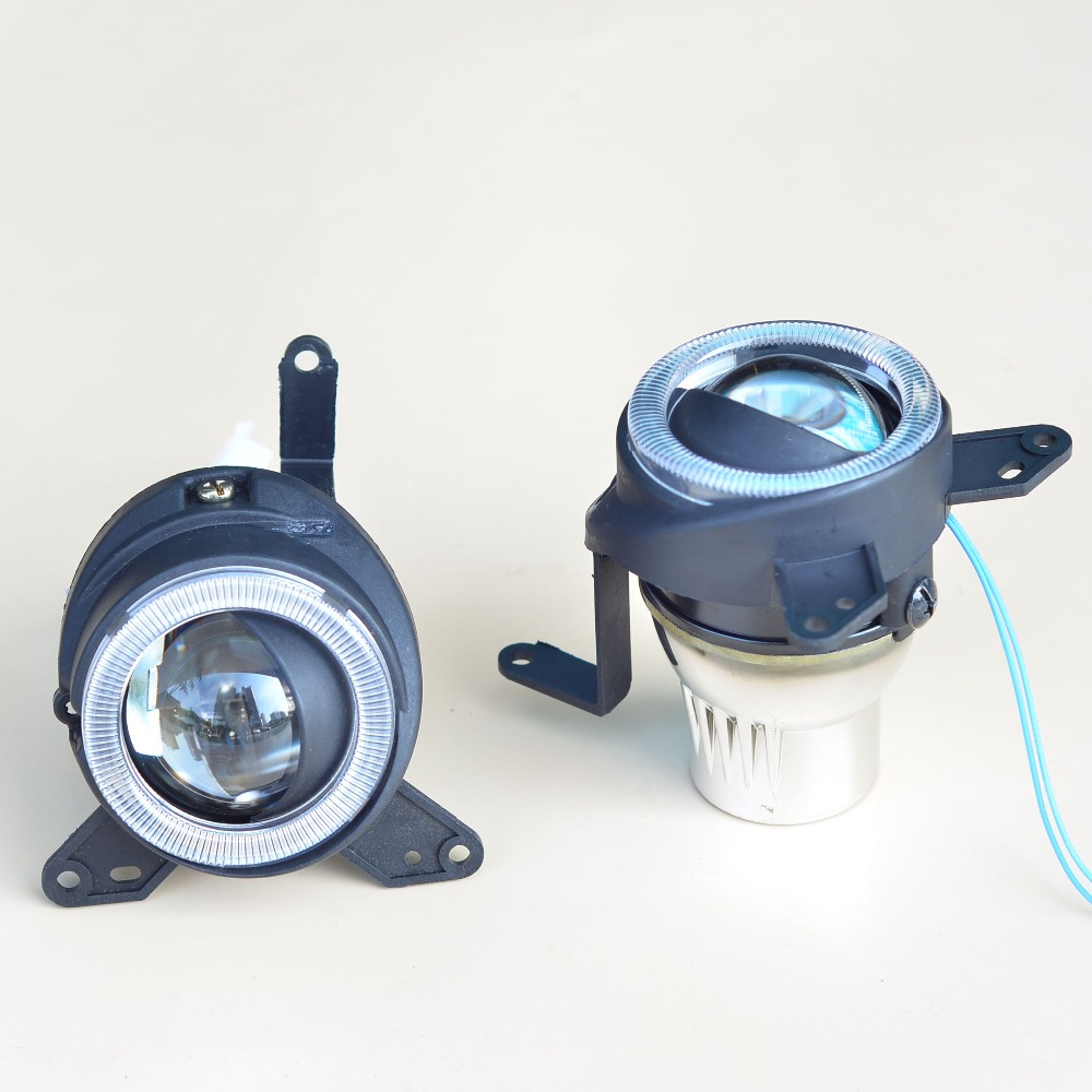 ФОТО car bifocal fog lens for Mitsubishi Lancer EX 10-  Lancer 08- /EVO 10- , Ling yue V312,Taiwan product, Front bumper lights